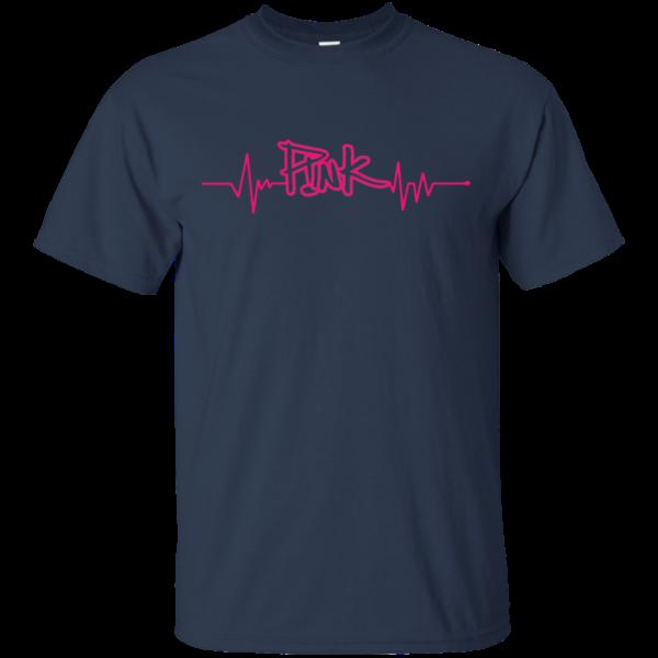 HeartBeat P!nk Shirt, Hoodie, Tank