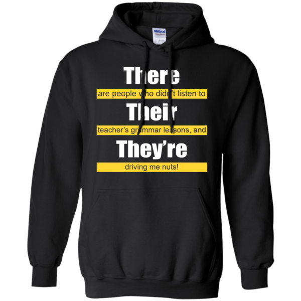 There Are People Who Didn't Listen To Shirt, Hoodie