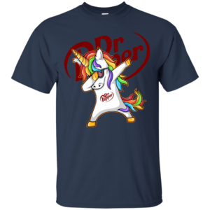 Dr. Pepper – Unicorn Dabbing Shirt, Hoodie, Tank