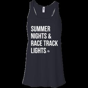 Summer Nights And Race Track Lights Shirt, Hoodie