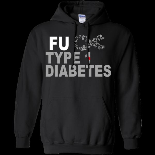 Breast Cancer FU Type 1 Diabetes Shirt