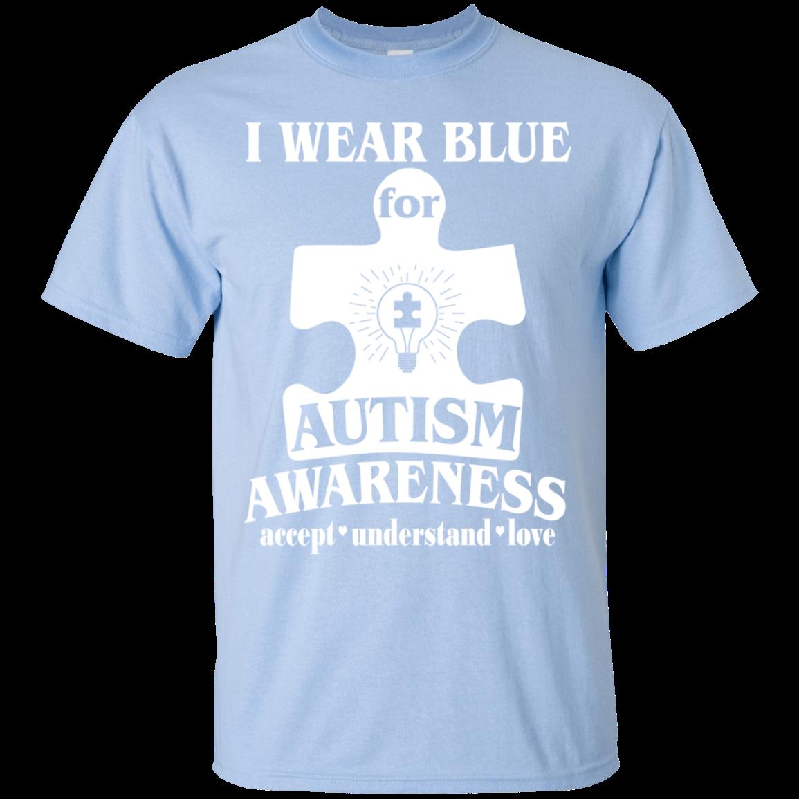 how to wear a blue shirt