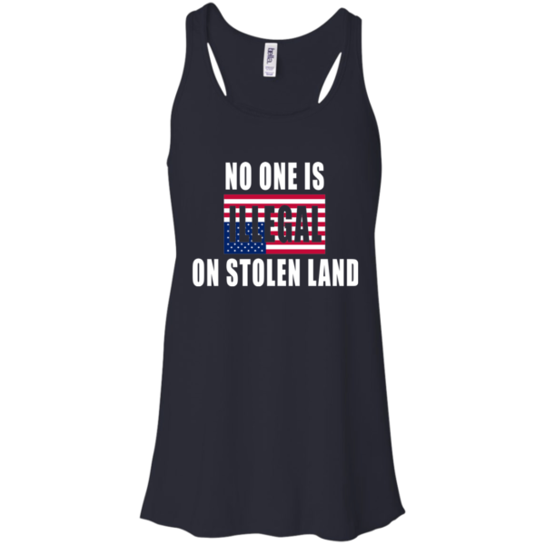 No One Is Illegal On Stolen Land Shirt, Hoodie