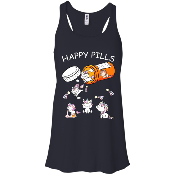 Unicorn – Happy Pills Shirt, Hoodie, Tank