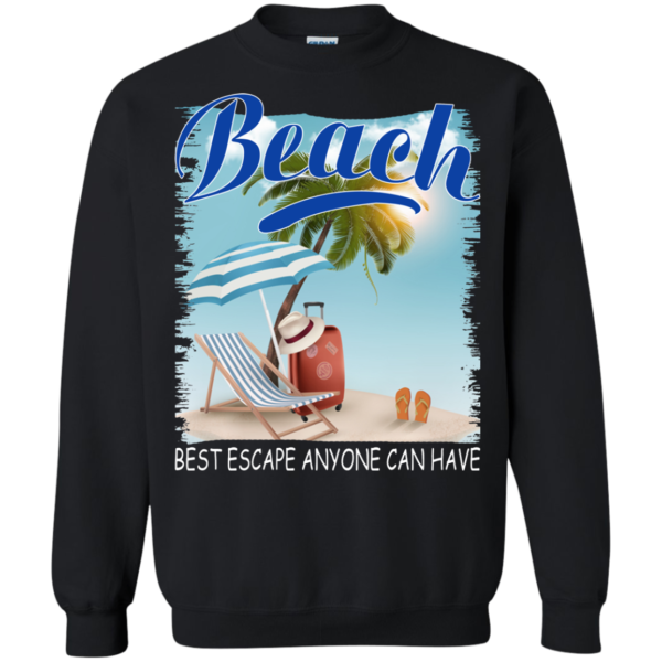 Beach – Best Escape Anyone Can Have Shirt, Hoodie