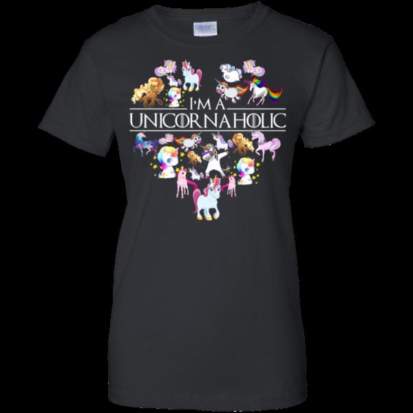 Unicorn – I'm A Unicornaholic Shirt, Hoodie, Tank
