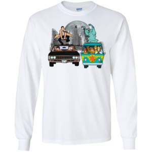 Supernatural And Scooby Doo On The Open Road Shirt, Hoodie, Tank