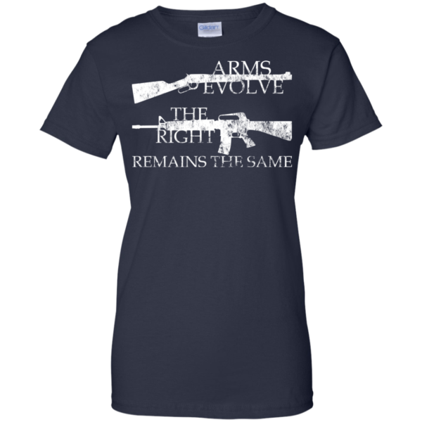 Arms Evolve – The Right – Remains The Same Shirt, Hoodie