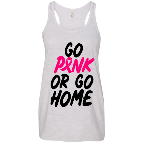 Breast Cancer – Go Pink Or Go Home Shirt, Hoodie