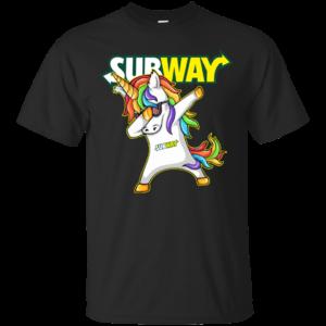 Subway – Unicorn Dabbing Shirt, Hoodie, Tank