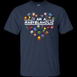 I Am A Marvelaholic Shirt, Hoodie, Tank
