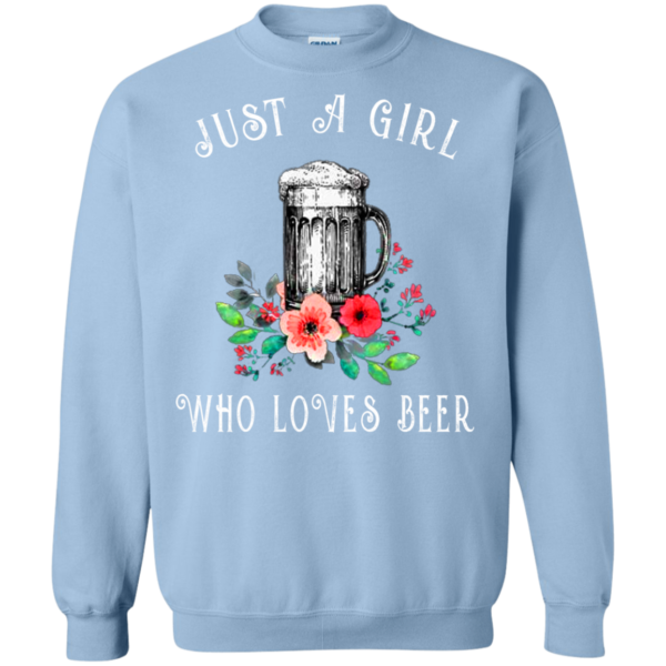 Just A Girl Who Loves Beer Shirt, Hoodie, Tank