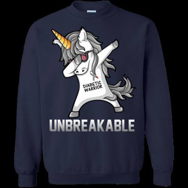 Unicorn Dabbing – Diabetic Warrior Unbreakable Shirt, Hoodie