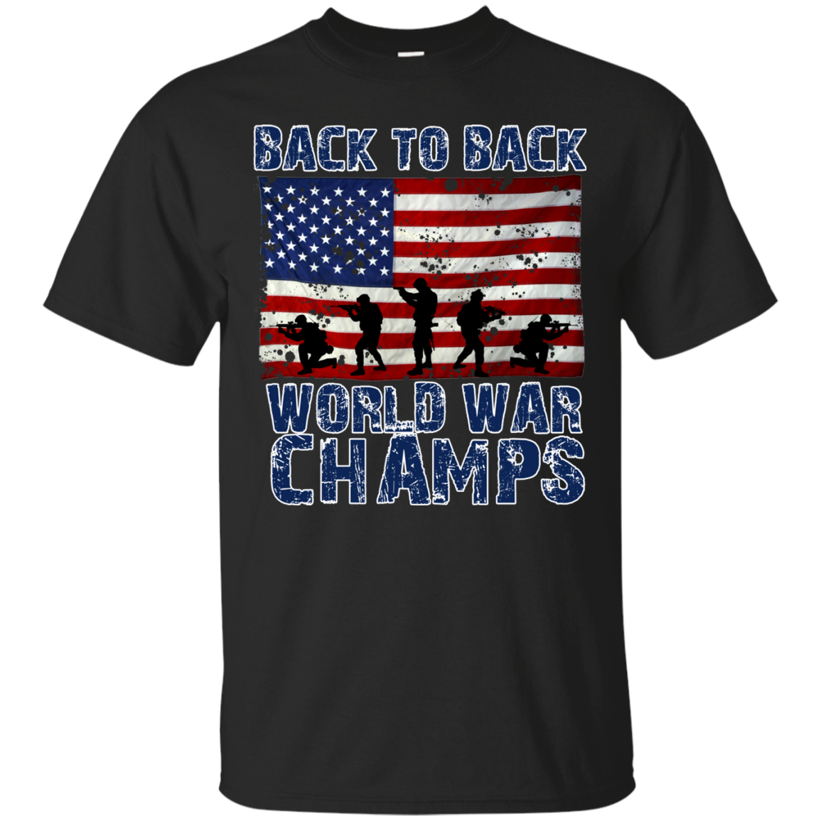 32960535a56 Back To Back World War Champs Shirt