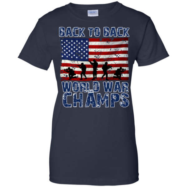 Back To Back World War Champs Shirt, Hoodie