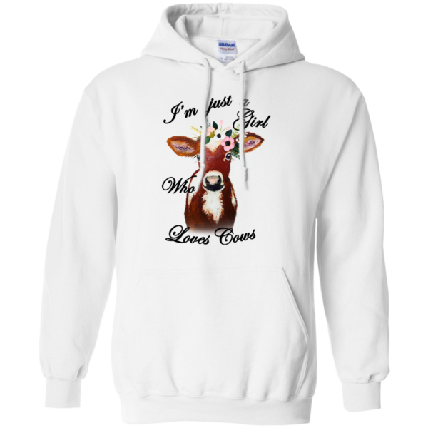 I'm Just A Girl Who Loves Cows Shirt, Hoodie