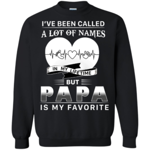 Papa – I've Been Called A Lot Of Names In My Lifetime Shirt