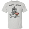 Just A Woman Who Loves Crown Royal Shirt, Hoodie
