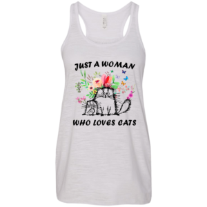 Just A Woman Who Loves Cats Shirt, Hoodie