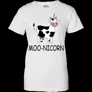Moo-nicorn Shirt, Hoodie, Tank