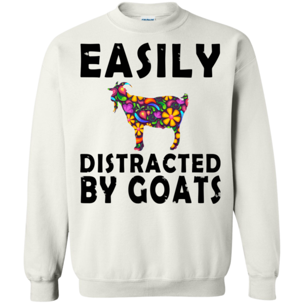 Easily Distracted By Goats Shirt, Hoodie