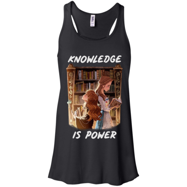 Hermione And Belle Knowledge Is Power Shirt, Hoodie, Tank