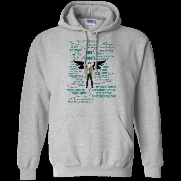 Supernatural Castiel – Hey Assbutt, I Am An Angel Of The Lord Shirt, Hoodie
