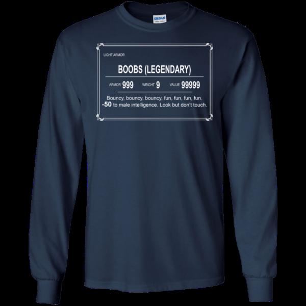Boobs (Legendary) Bouncy Fun Shirt, Hoodie