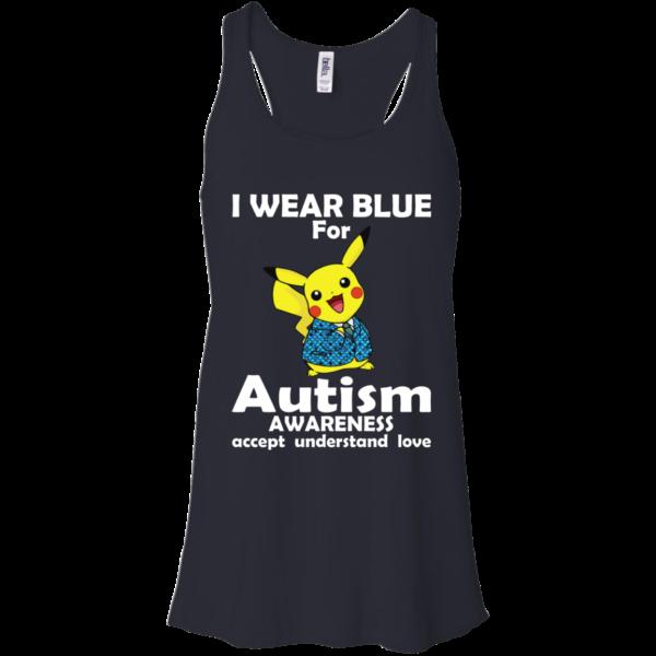 Pikachu – I Wear Blue For Autism AWareness Shirt, Hoodie