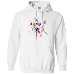 Dragonfly And Flower Shirt, Hoodie, Tank