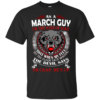 As A March Guy – The Devil Says Oh Crap, He's Up Shirt, Hoodie