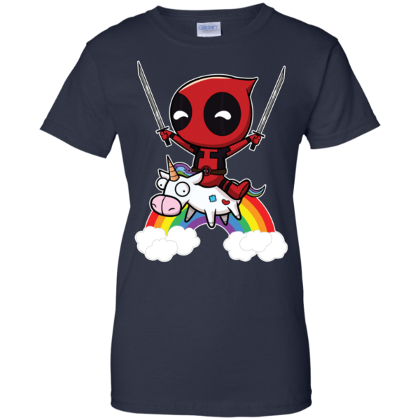 Deadpool Riding Unicorn Shirt, Hoodie, Tank