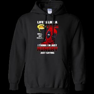 Deadpool – Life Is Like A Taco – I Think I'm Just Hungry Shirt