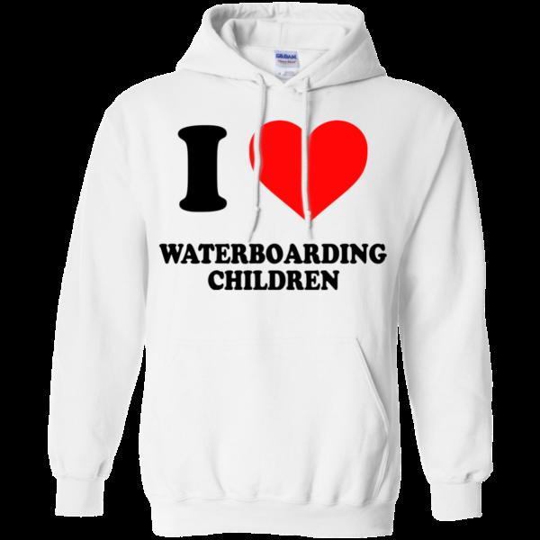 I Love Waterboarding Children Shirt, Hoodie