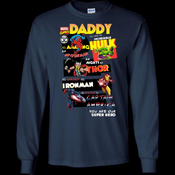Marvel Comics Daddy Shirt, Hoodie, Tank