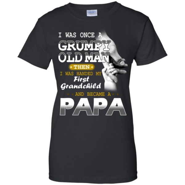 I Was Once A Grumpy Old Man Shirt, Hoodie