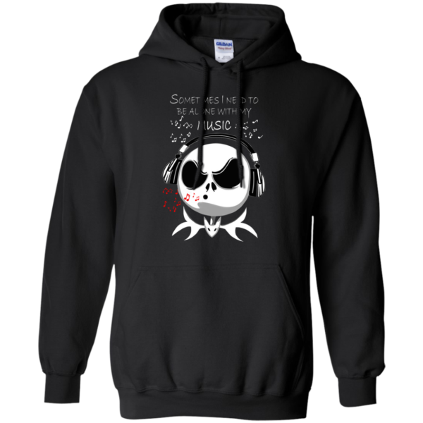 Jack Skellington – Sometimes I Need To Be Alone With My Music Shirt