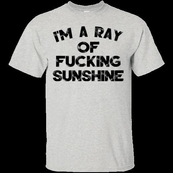 I'm A Ray Of Fucking Sunshine Shirt, Hoodie