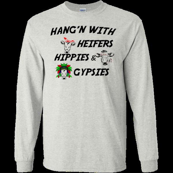 Hang'n With Heifers Hippers And Gypsies Shirt, Hoodie