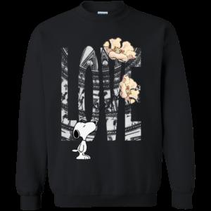 Snoopy Love Flower Shirt, Hoodie, Tank