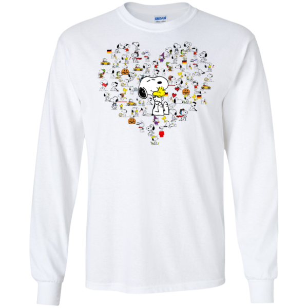 Snoopy Heart Shirt, Hoodie, Tank