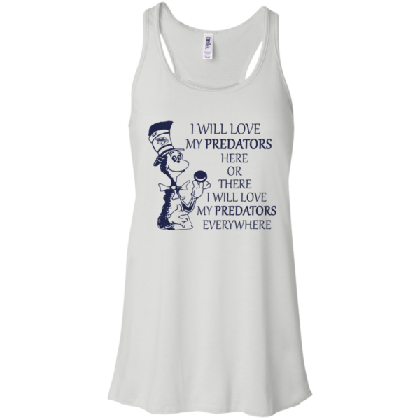 Dr Seuss – I Will Love My Predators Here Or There Shirt