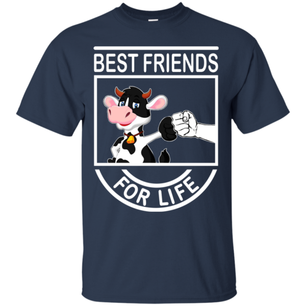 Cow – Best Friends For Life Shirt, HoodieCow – Best Friends For Life Shirt, Hoodie