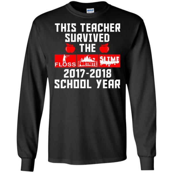 This Teacher Survived The Floss – Fortnite – Slime Shirt
