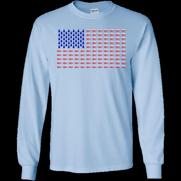 Camping Flag Shirt, Hoodie, Tank
