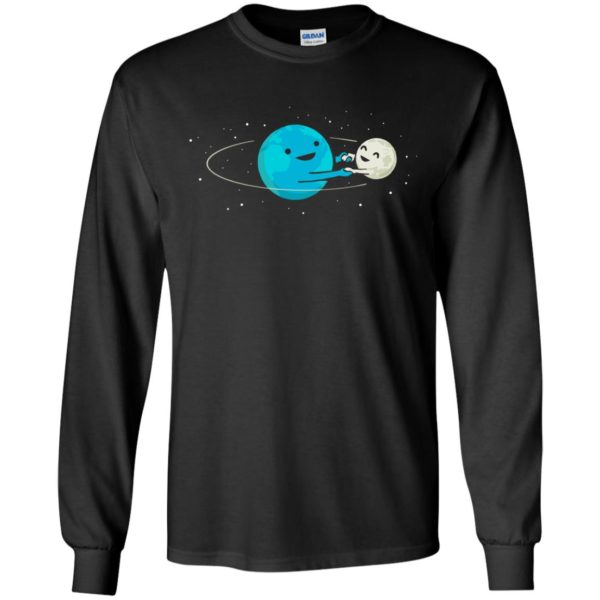 Earth And Moon – Father And Son Shirt