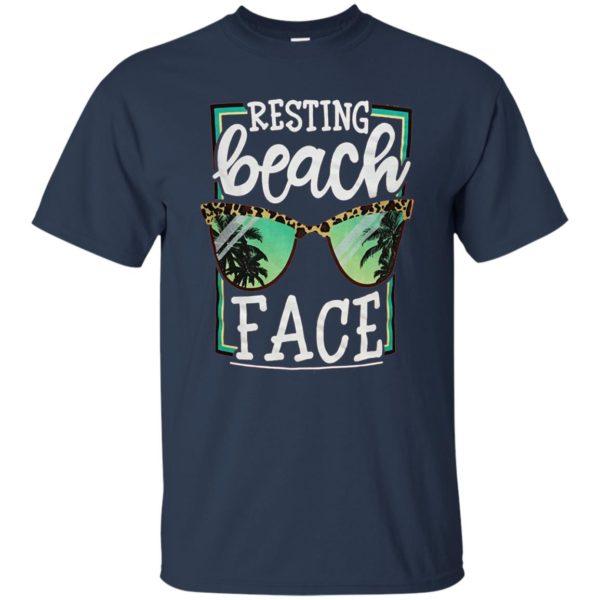 Resting Beach Face Shirt, Hoodie
