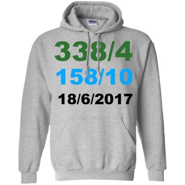338/4 – 158/10 – 18/6/2017 Shirt, Hoodie