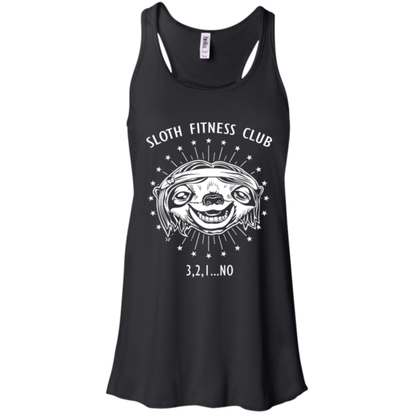 Sloth Fitness Club 3,2,1…No Shirt, Hoodie