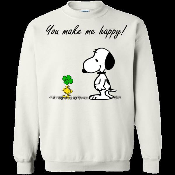 Snoopy – You Make Me Happy Shirt, Hoodie